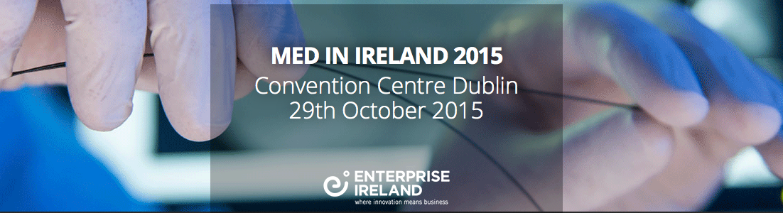 Med in Ireland at The Convention Centre Dublin 29th October 2015