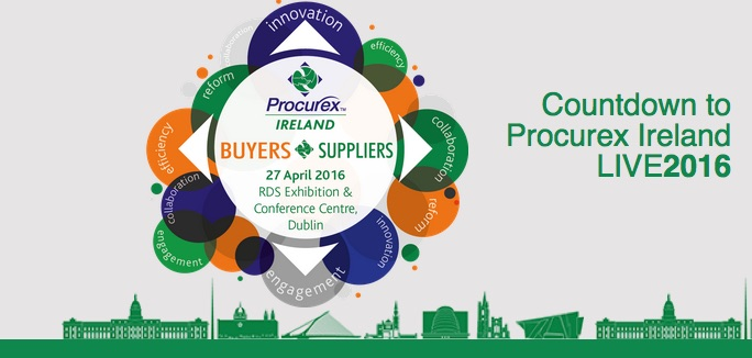 Procurex Ireland-Ireland's Premier Public Procurement Event- 27th April RDS
